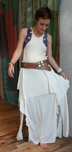 Never Fade Maxi Skirt style pic