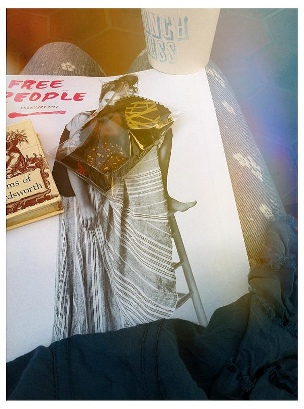 •Free People fashion•  •French chocolate• •French coffee•  •English poetry•