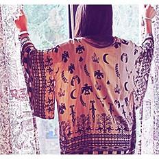 Boho Tribal Kimono style pic