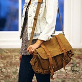 Barbour Steve McQueen Collection Satchel
