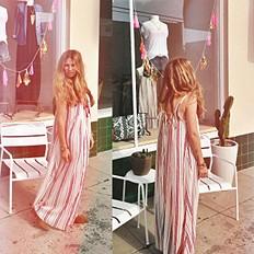Striped Unearthen Dress style pic