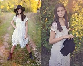 Prairie Ruffle Dress style pic