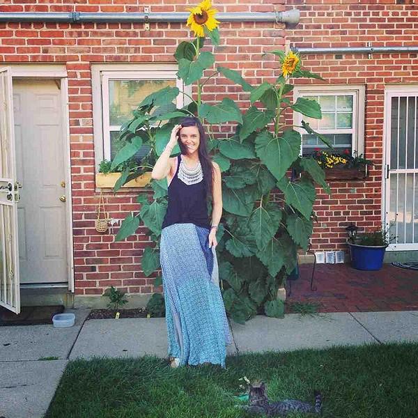 sunflowers & a maxi skirt