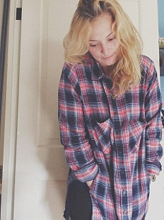 Behind The Flannel Buttondown style pic