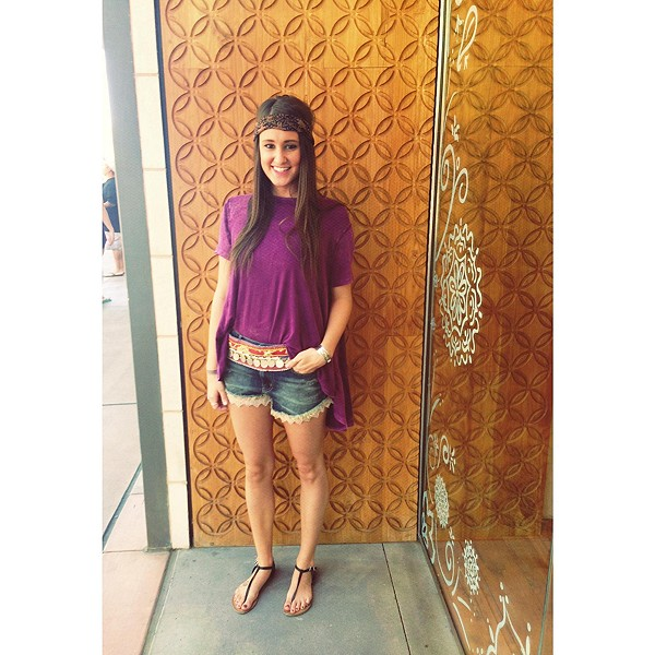 Lacey Denim Cutoff Shorts