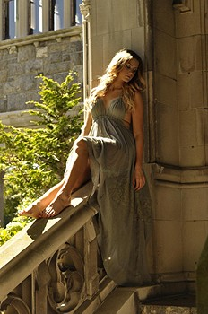Endless Summer Triangle Top Maxi style pic