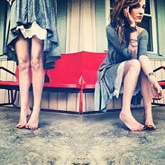 Drippy Jersey Dress style pic