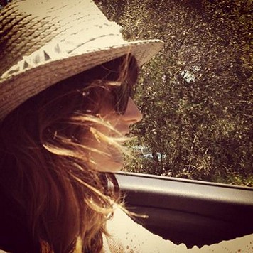 Sunkissed Fedora #roadtrip