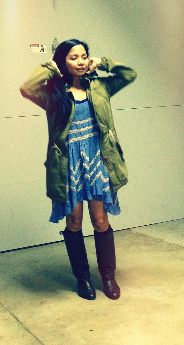 Green Parka style pic