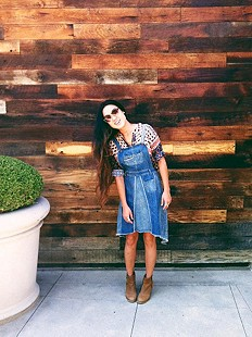 This Overall dress is my new favorite!