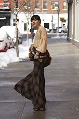 Cameron Plaid Maxi Skirt style pic