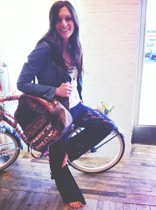 A Bag and a Bike