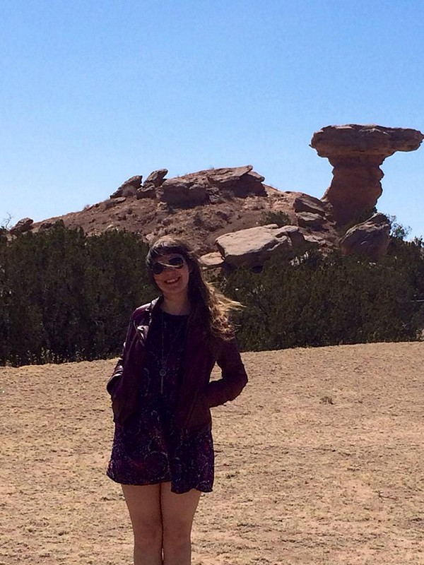 camel rock and a new leather jacket