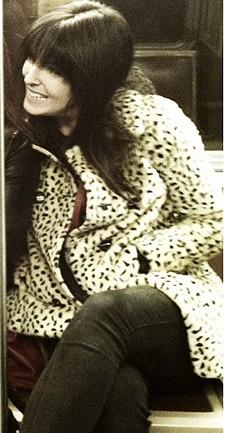 Leopard Swing Coat style pic
