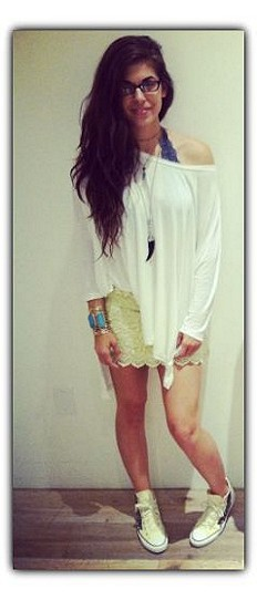 Big Dipper Oversized Tee style pic