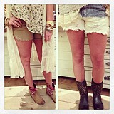 Eyelet Pocket Cutoffs style pic