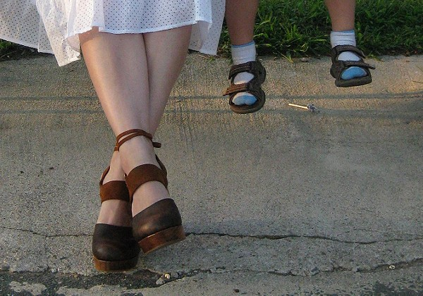 Belmont Leather Clog style pic