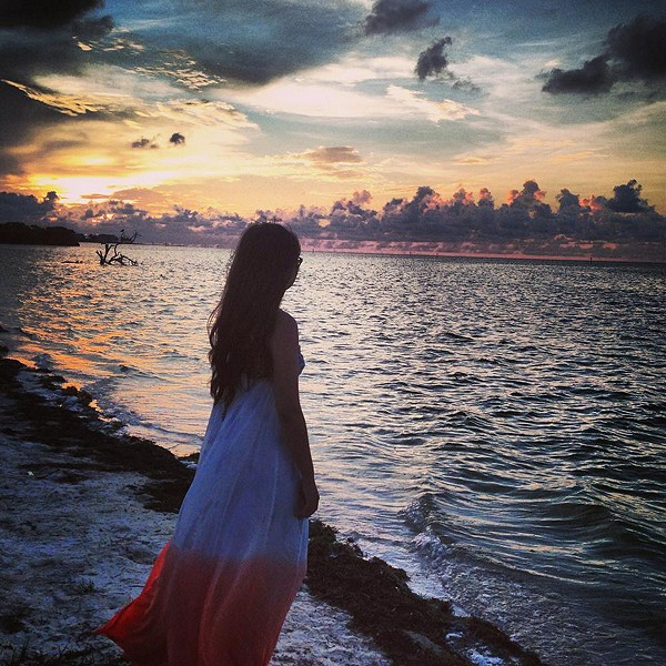 Sunrise in Key Largo