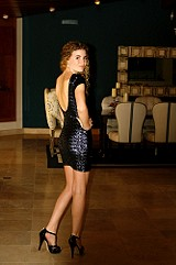 Sequin Fever Bodycon Dress style pic