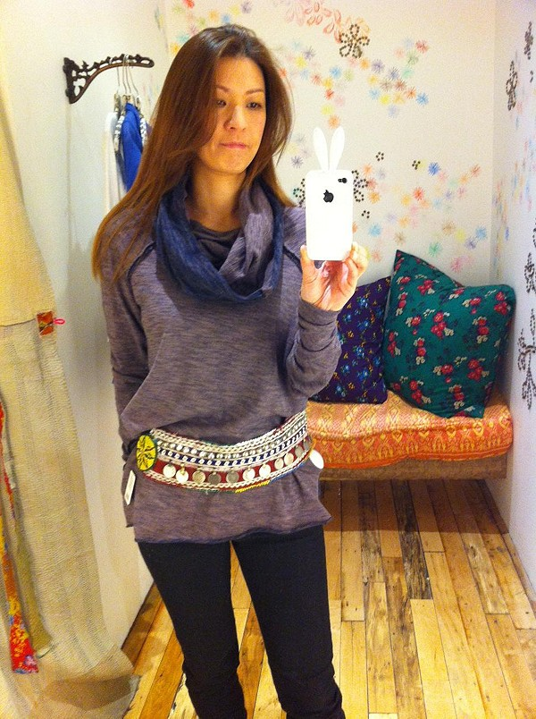 Cocoon Pullover style pic