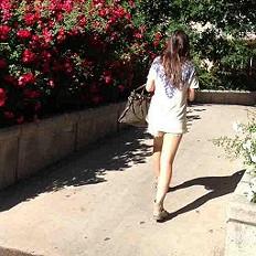 tie dye   Lacey shorts