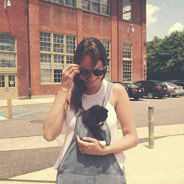 Kittens and overalls