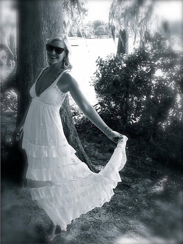 Kristal's Limited Edition White Dress style pic