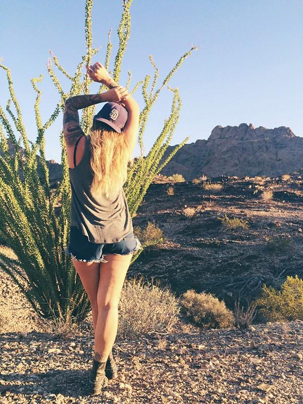 Padres...in the Arizona desert