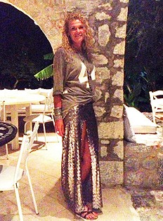 Mermaid Sequin Skirt style pic