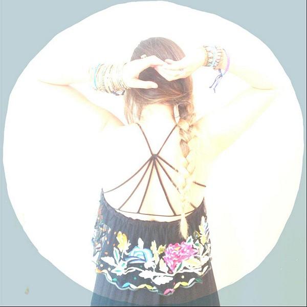 //strappy back bra   summer nights romper\\