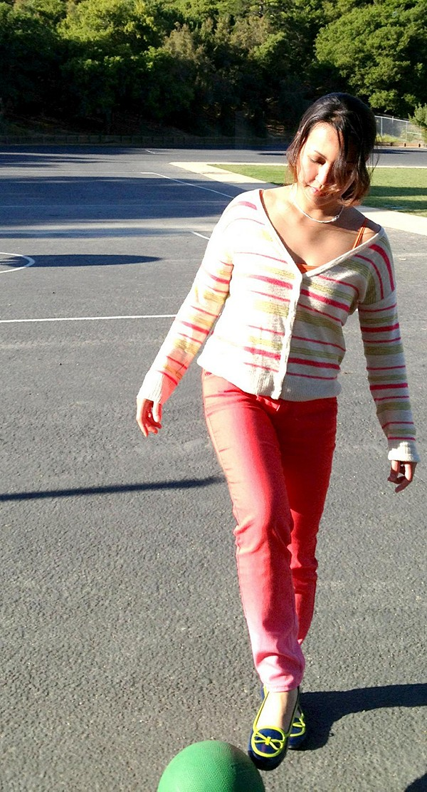 Coral Lace Legging style pic