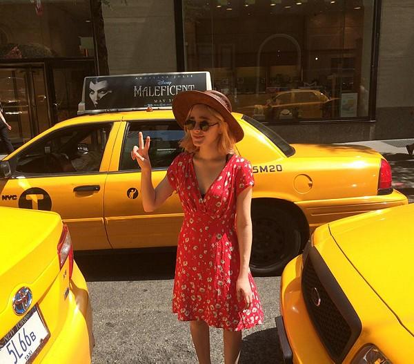 beep beep, I'm coming through!! #nyc #summerlove #peace #sunshine