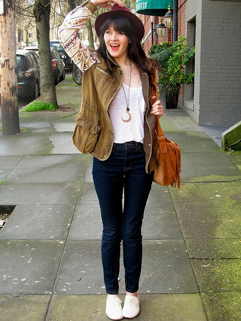 Follow Your Heart Cargo Jacket style pic