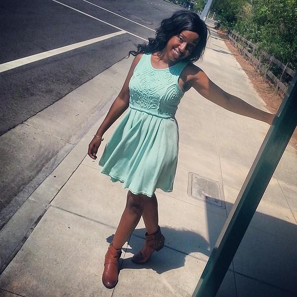 Sassy Soutache Dress style pic