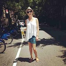 summer strolls in the city