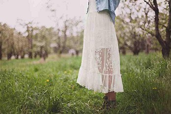 Lacey fields.