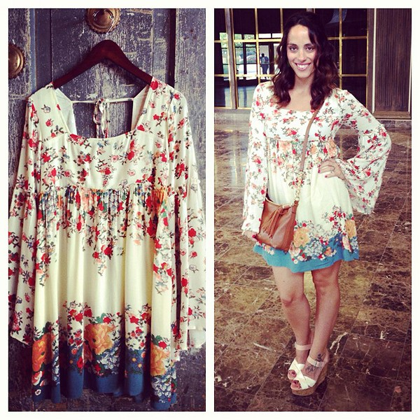 modern chemoise dress
