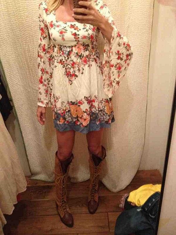 dresses and boots!!