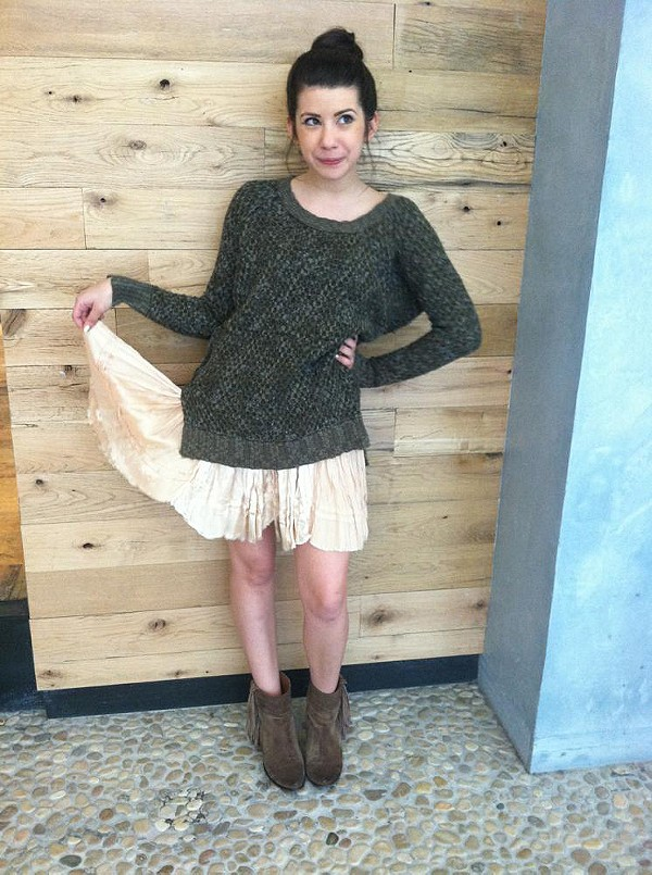 Honeycomb Pullover