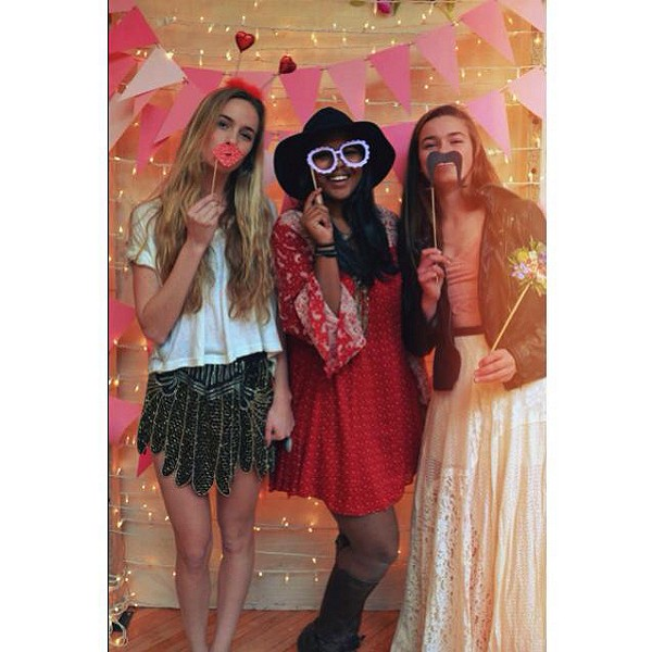 Valetines Day Photo Booth at Free People KOP!