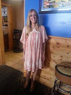 Paisley Punch Dress