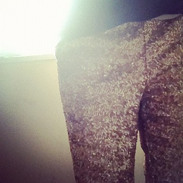 Sequin Party Pant style pic