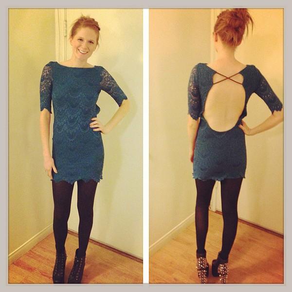 Spanish Lace Priscilla Dress style pic