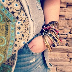 Suede Wrap Bracelet style pic