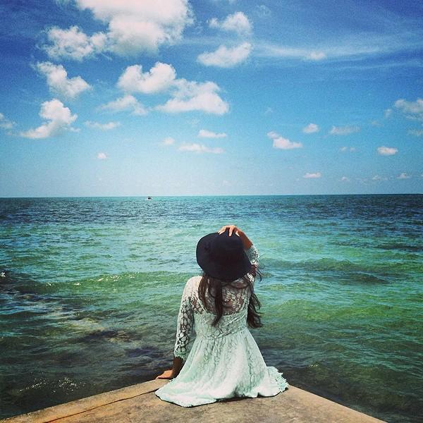 beach day in Key West