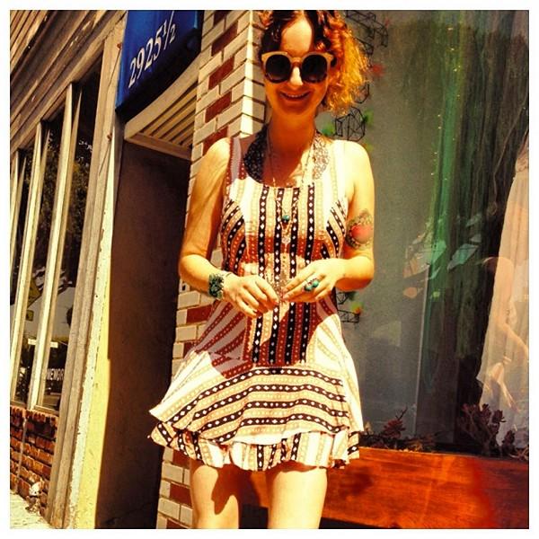 St. Tropez Dropwaist Dress style pic