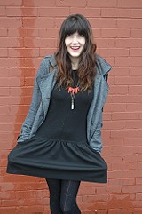Double Knit Dropwaist Dress style pic