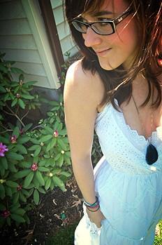 Ophelia Eyelet Maxi Dress style pic