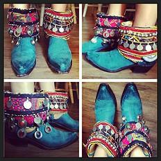 homemade boots!