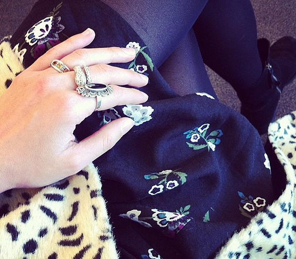 Perfect Day Dress cheetah coat